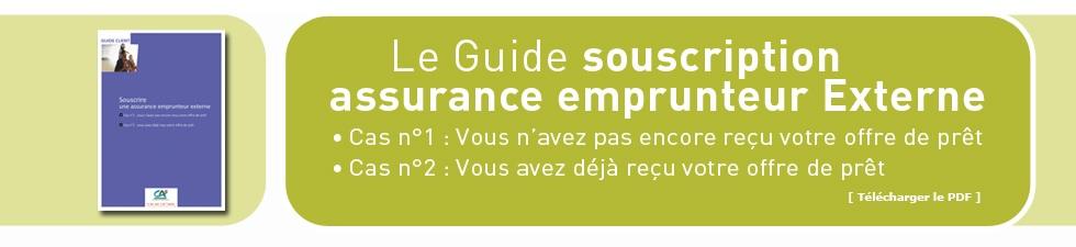 Le Guide souscription assurance emprunteur externe
